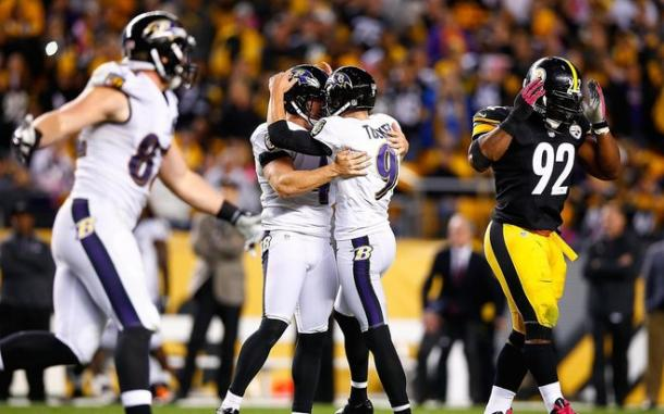 Baltimore done the double over their bitter rivals Pittsburgh last season (Photo: Getty Images)