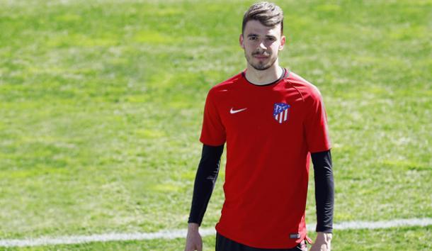Cristian Rodríguez con el Atlético de Madrid // Imagen: Atlético de Madrid