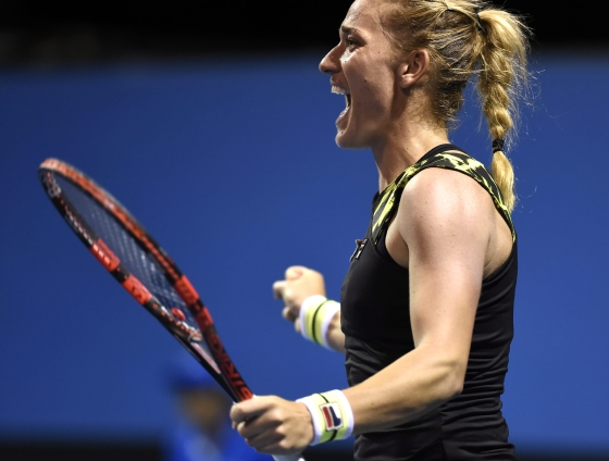Timea Babos lies in waiting for Kerber in the fourth round (Source: Metropol)