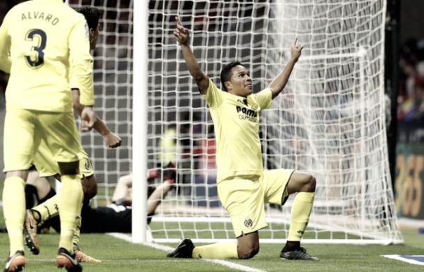 Bacca festeja un gol en Liga I Foto: La Liga