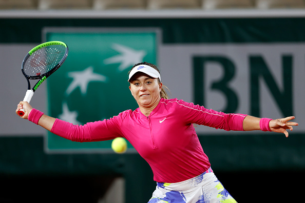 Badosa on her way to stunning former champion Ostapenko (Clive Brunskill/Getty Images)