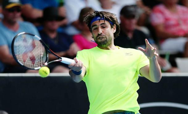 Baghdatis secured his fourth win in five matches on Tuesday (Photo: Getty Images/Anthony Au-Yeung)