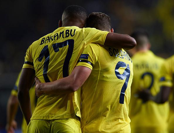 Soldado y Bakambu son los dos delanteros del actual Villarreal   Foto: El País