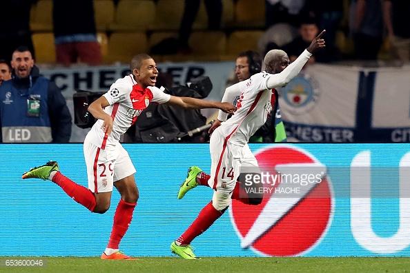 Bakayoko celebrates his winner against Man City last season. (Source: