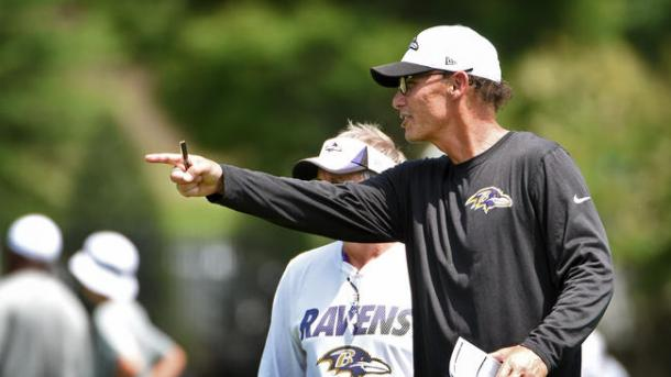 Trestman is going into his second season with the Ravens (Photo: Getty Images)