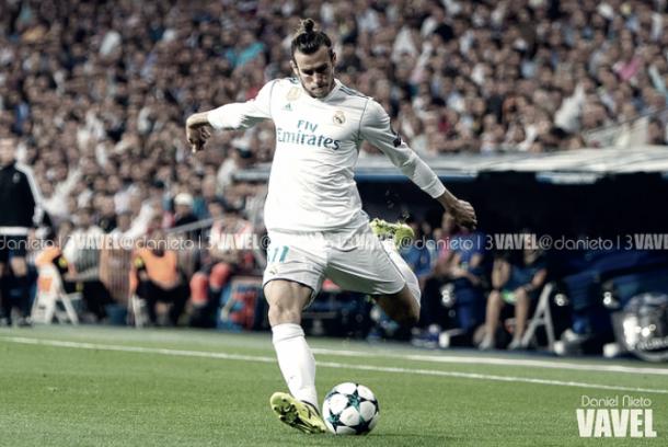 Bale intentado golpea el esférico / Ddaniel Nieto (VAVEL.com