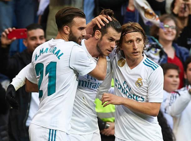 Gareth Bale foi um dos grandes destaques da partida | Foto: fotopress/Getty Images
