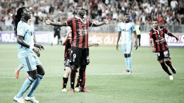 Foto: Niza //  Balotelli celebrando un gol.
