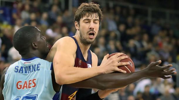 Ante Tomic es el jugador más valorado de la competición | Foto: ACB.