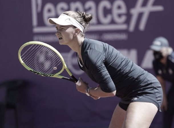 Barbora Krejcikova Foto @WTA_Strasbourg
