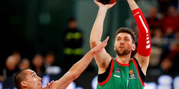 Bargnani prova a riprendersi il Baskonia - Fonte Getty Images