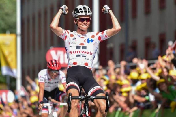 Barguil celebrando su triunfo | Fuente: ASO