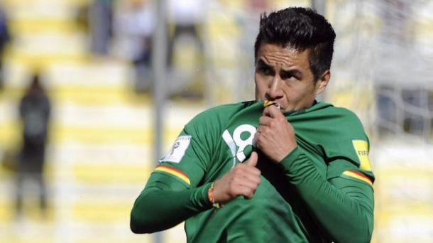 Juan Carlos Arce will be one of the leaders for Bolivia, being the player with the most caps on the roster. Photo provided by AFP.