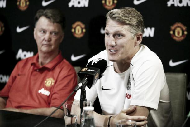Louis van Gaal reserved special treatment for Bastian Schweinsteiger | Photo: Reuters