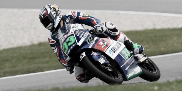 Bastianini was putting in consistent times before topping the FP2 | Photo: www.masmoto.net
