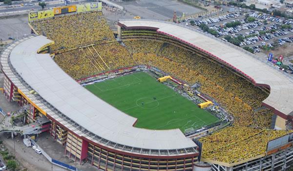 Estadio Monumental Isidro Romero Carbo. Foto: DR