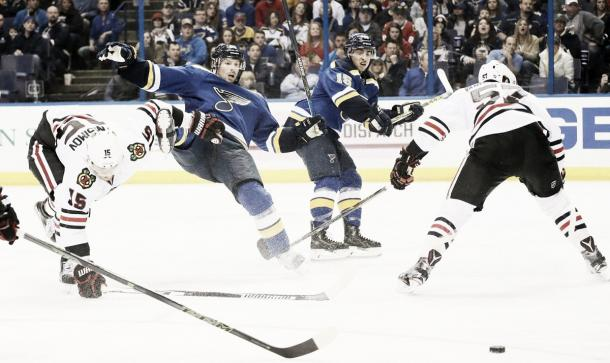 Blues y Hawks se suman a la lucha. | Foto NHL.com