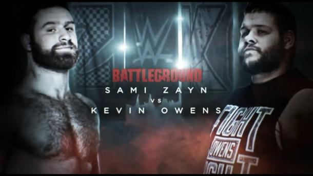 Can Sami Zayn finally defeat his former best friend Kevin Owens (image: youtube.com)