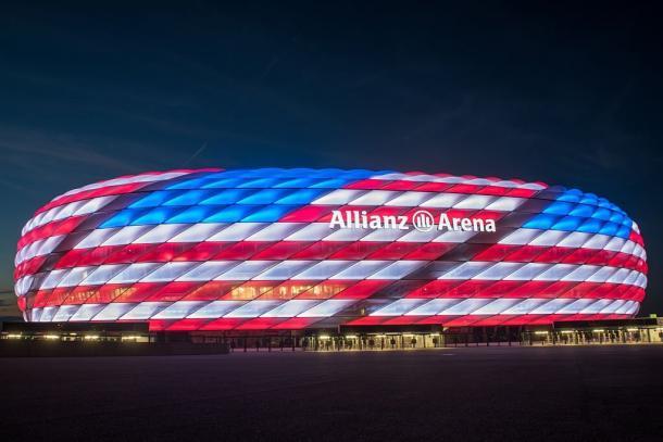 Allianz Arena durante el parón de selecciones | Foto: @FCBayernEN