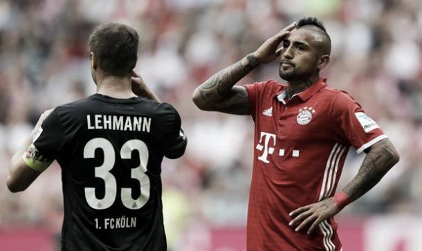 El Bayern empató ante el Colonia. Foto: Libero