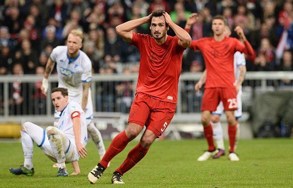 La disperazione di Hummels nell'1-1 casalingo con l'Hoffenheim | Foto: tuttocalcioestero.it