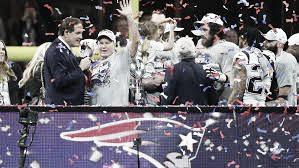 Bill Belichick festejando el Super Bowl LIII (foto New England Patriots)