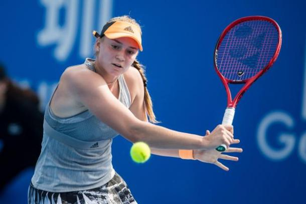 The Kazakh is aiming for a modest climb up the rankings as she targets more success/Photo: AFP
