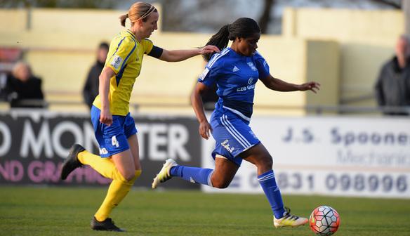 Freda Ayisi is BCLFC's topscorer. (Photo:fawsl.com)