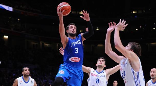Belinelli é um dos grandes destaques da Itália (Foto: Divulgação/FIBA)