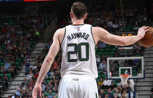 Gordon Hayward. Melissa Majchrzak/NBAE via Getty Images