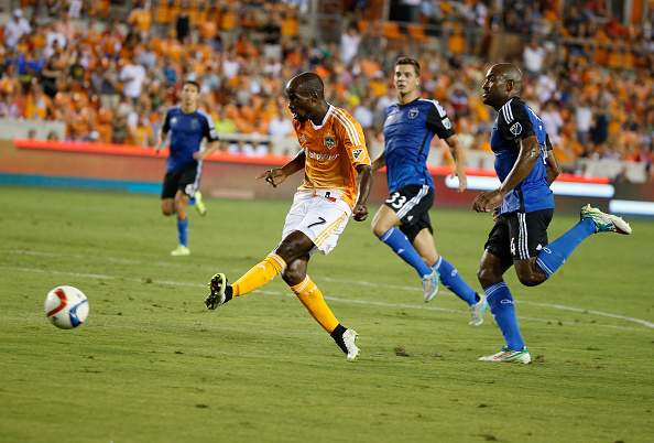 DeMarcus Beasley back with the Houston Dynamo. | Photo: Scott Halleran