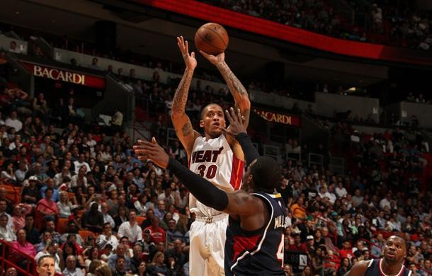 Beasley jugando con los Miami Heat la temporada pasada. Foto: nba.com