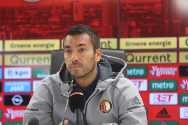 Gio Van Bronckhorst, entrenador del Feyenoord. Fuente: Feyenoord