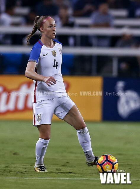 Becky Sauerbrunn has started every international match for the U.S. this year  | Photo: Jim Malone - VAVEL USA