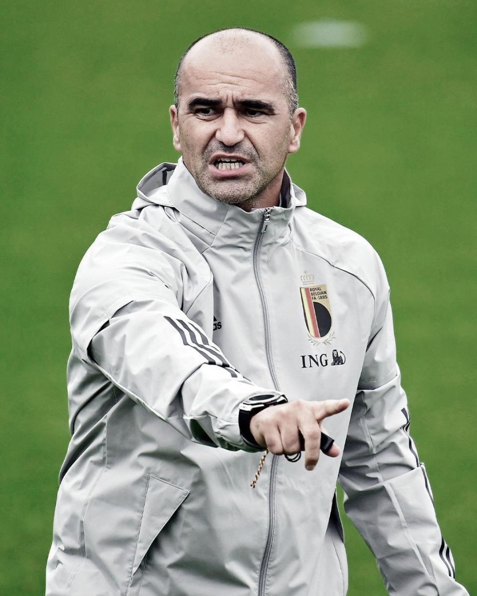 Roberto Martínez, seleccionador de Bélgica.  Foto: @belgianreddevils