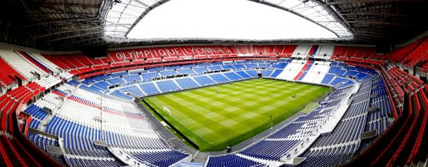 O palco do jogo desta noite   Foto: Site Oficial Euro 0016