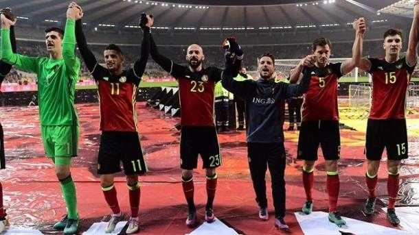A Bélgica lidera, mas vai receber a Grécia | Foto:pt.uefa.com/worldcup