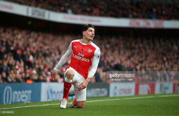 Bellerin has been one of the most consistent performers for Arsenal over the past two season. | Photo: Catherine Ivill - AMA/Getty Images