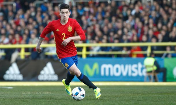 Bellerín debutó con la selección española recientemente. Foto: SE Fútbol