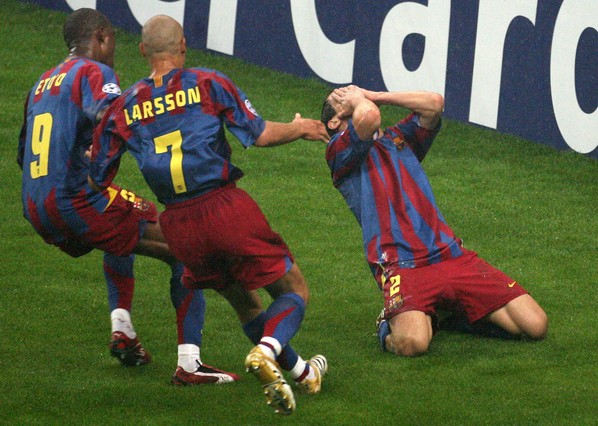 Belletti marcó uno de los goles más importantes de la historia azulgrana | Foto: FCB