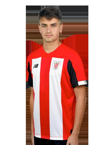 Beñat Prados    Foto: Web oficial del Athletic Club