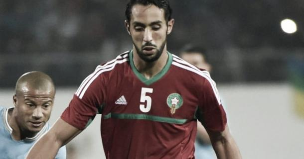 Benatia en un amistoso Marruecos vs Uruguay. / Foto: reuters.com