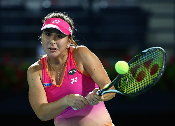 Bencic is the youngest player in the WTA's top 10 (Photo: Getty Images/Francois Nel)