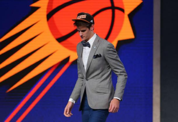 The Phoenix Suns had the No. 4 pick in last year's NBA Draft and selected Dragan Bender using the 'draft-and-stash' strategy. Photo Brad Penner/USA-TODAY Sports