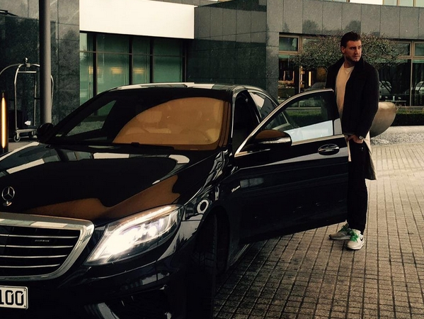 Nicklas Bendtner's controversial post | Photo: Instagram (bendtner3)
