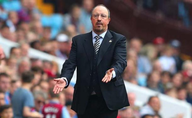 Benitez has improved Newcastle's form, but not saved them (photo: Getty Images)