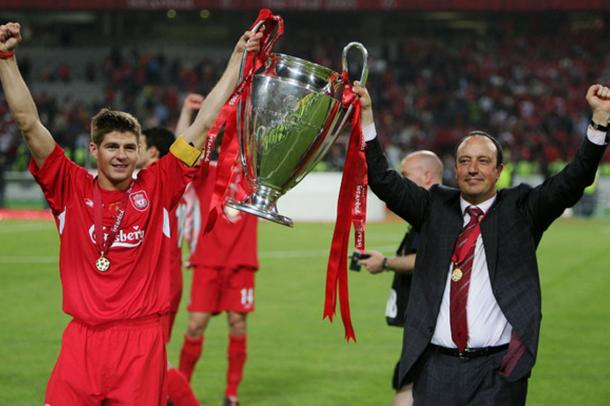The days of European glory under Benitez seem long ago (photo: Getty Images)