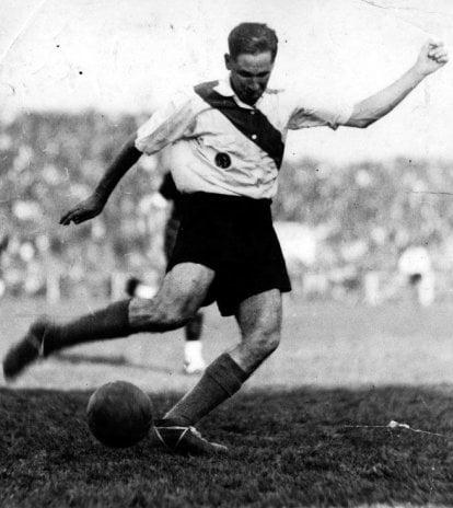 Laterza, el primer paraguayo que jugó en River (Foto: Abc Paraguay).