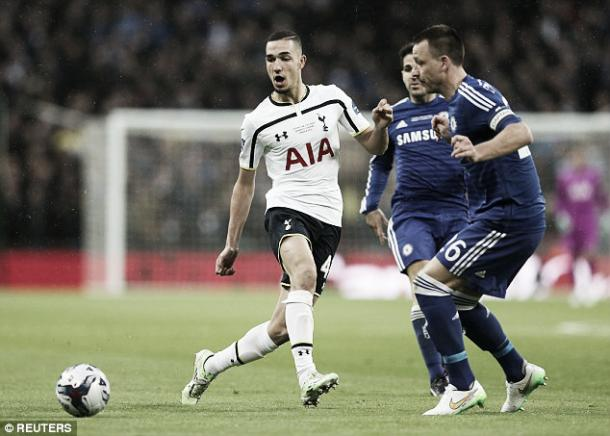 Bentaleb was instrumental in his sides run to the 2015 Capital One Cup final. Source: Daily Mail
