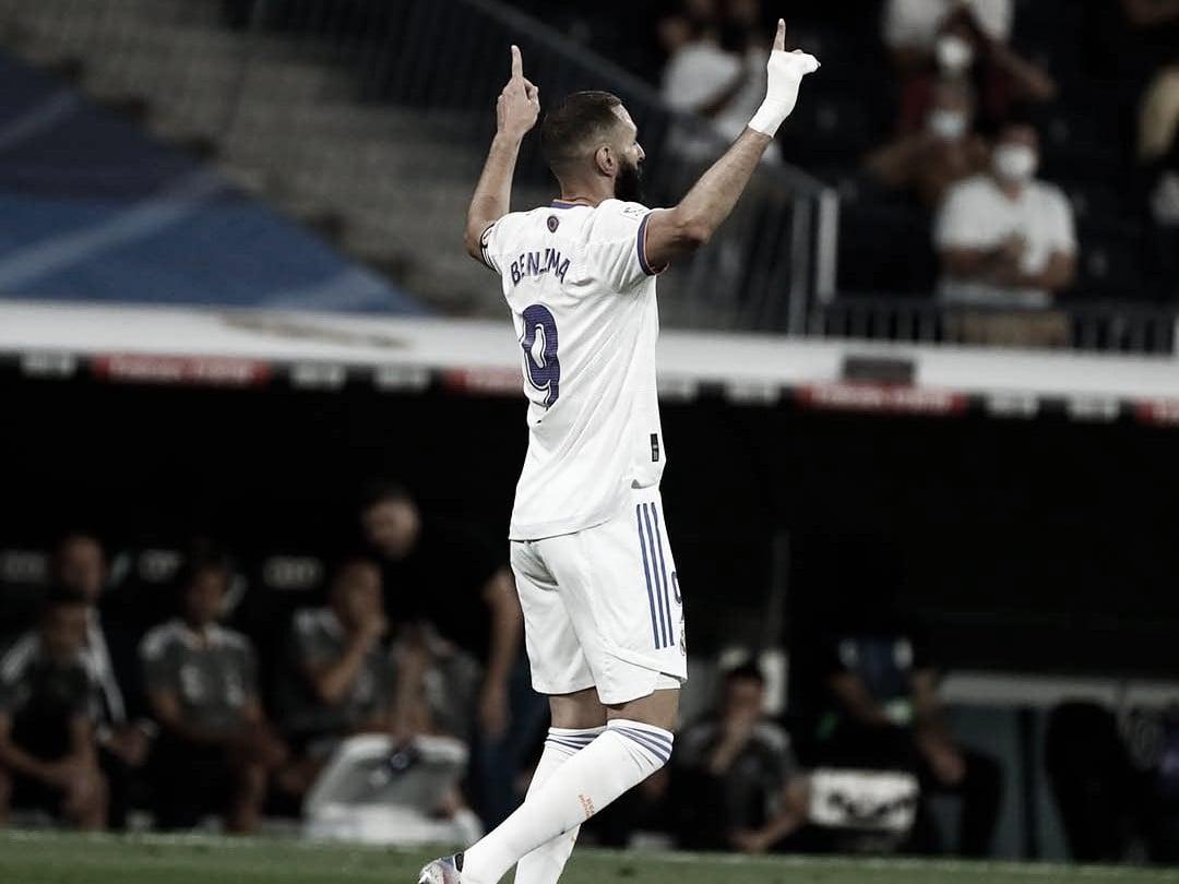 El goleador francés del Madrid   Foto: Real Madrid